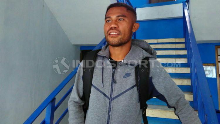 Pelatih baru Persib Bandung, Mario Gomez saat berpidato. Copyright: © vikingpersib.co.id