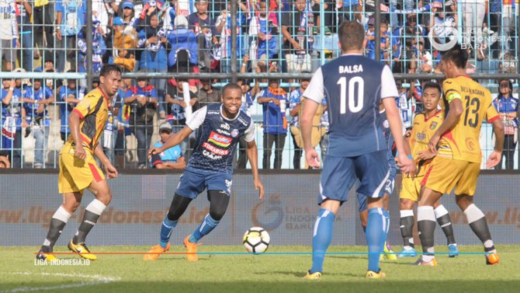 Arema FC vs Mitra Kukar Copyright: © liga-indonesia.id