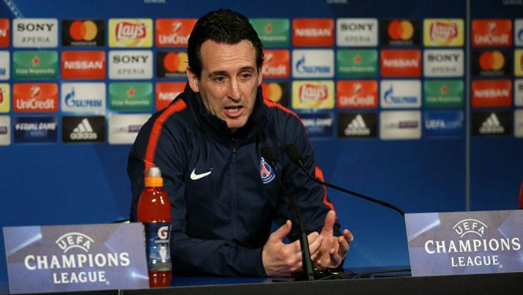 Unai Emery (Pelatih PSG). Copyright: © Getty Images