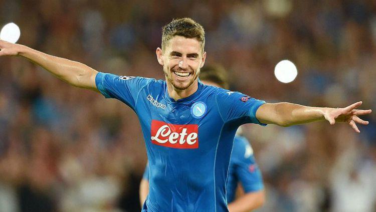Jorginho, pemain Napoli Copyright: © calciomercato.com