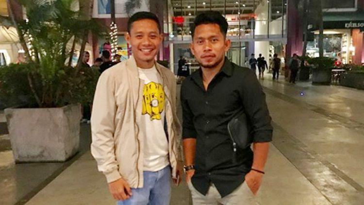 Evan Dimas dan Andik Vermansah. Copyright: © Instagram@andikvermansah