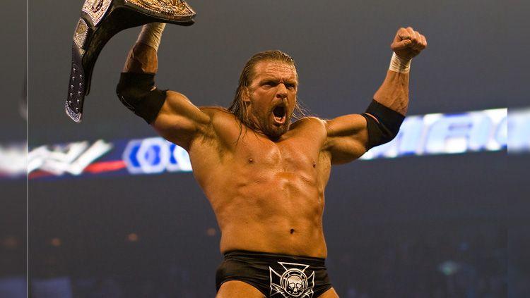 Pegulat WWE Triple H yang juga pendukung West Ham United mengirim pesan menyentuh untuk Declan Rice yang tengah didekati Chelsea. Copyright: © Wikimedia Commons
