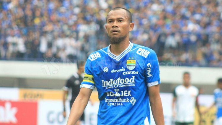 Kapten Persib Bandung, Supardi. Copyright: © Arif Rahman/INDOSPORT