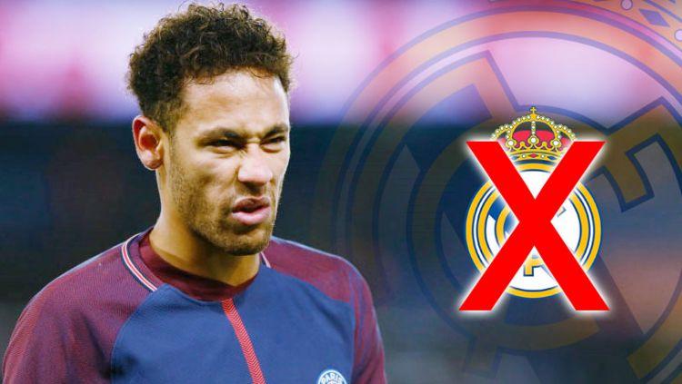 Neymar diyakini tidak akan ke Real Madrid. Copyright: © Indosport.com