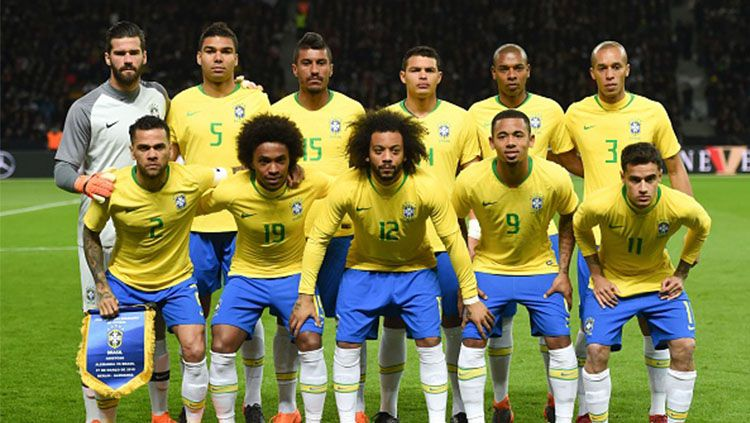 skuad brasil. Copyright: © Getty Images