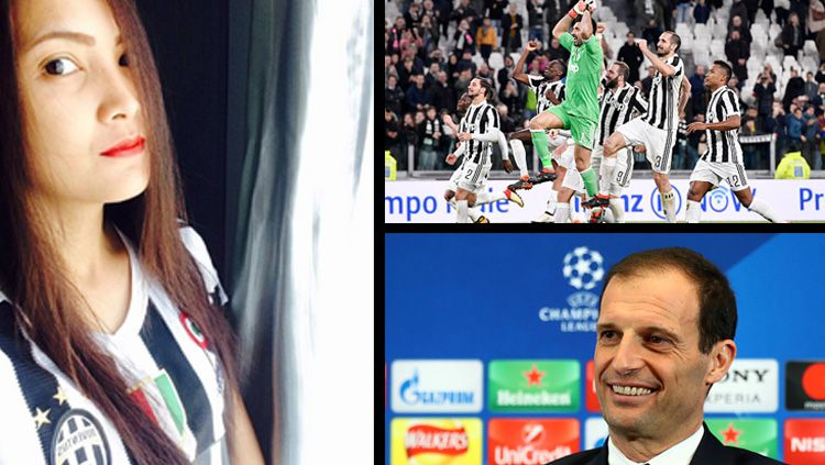 Angela Sanchay, Presiden Juvedonna Indonesia dan Juventus. Copyright: © Instagram Angela Sanchay/INDOSPORT