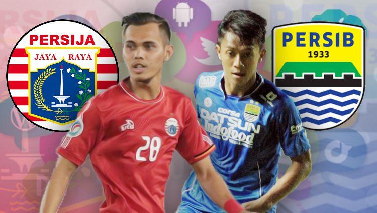 Persija Jakarta vs Persib Bandung. Copyright: © INDOSPORT
