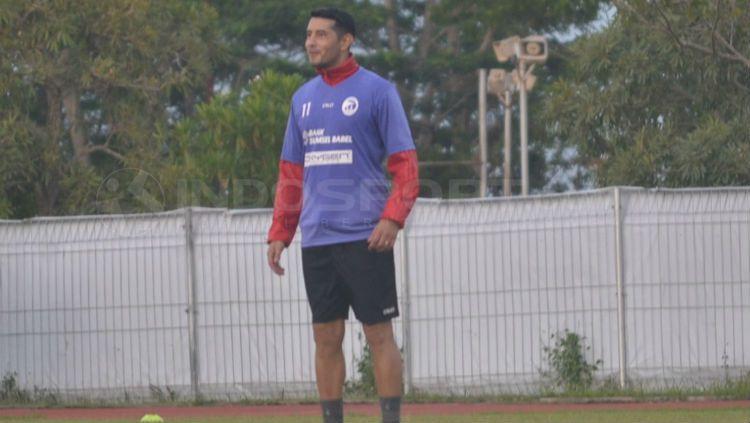 Gelandang Sriwijaya FC, Esteban Vizcarra Copyright: © Muhammad Effendi/INDOSPORT