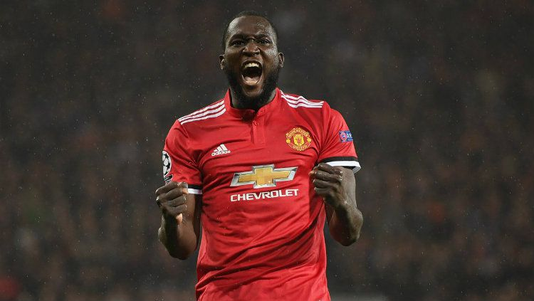 Striker Manchester United, Romelu Lukaku. Copyright: © Getty Images