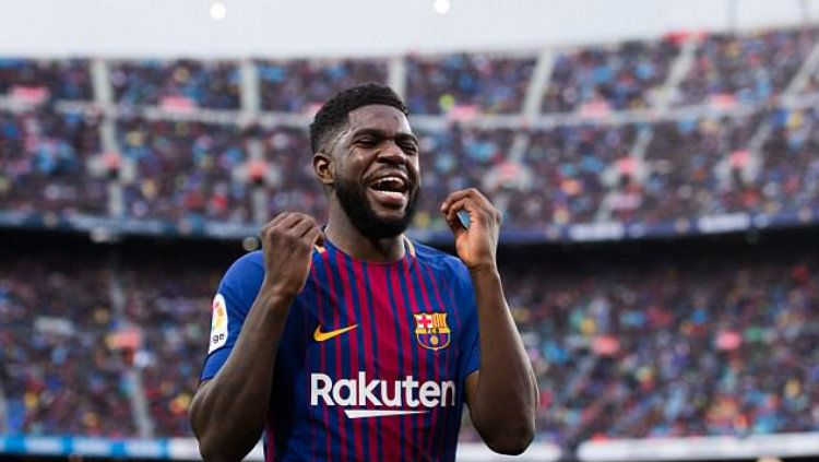 Samuel Umtiti. Copyright: © Getty Image