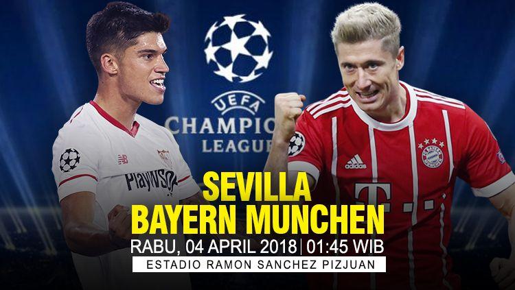 Prediksi Sevilla vs Bayern Munchen. Copyright: © INDOSPORT