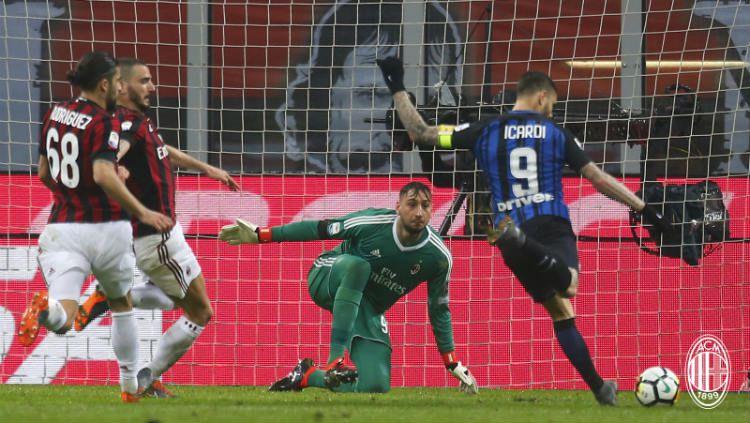 AC Milan vs Inter Milan. Copyright: © Twitter@acmilan