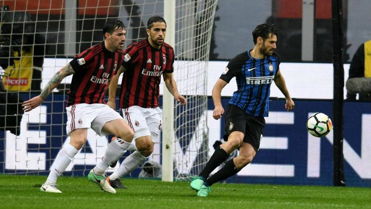 AC Milan vs Inter Milan. Copyright: © Twitter@inter_en