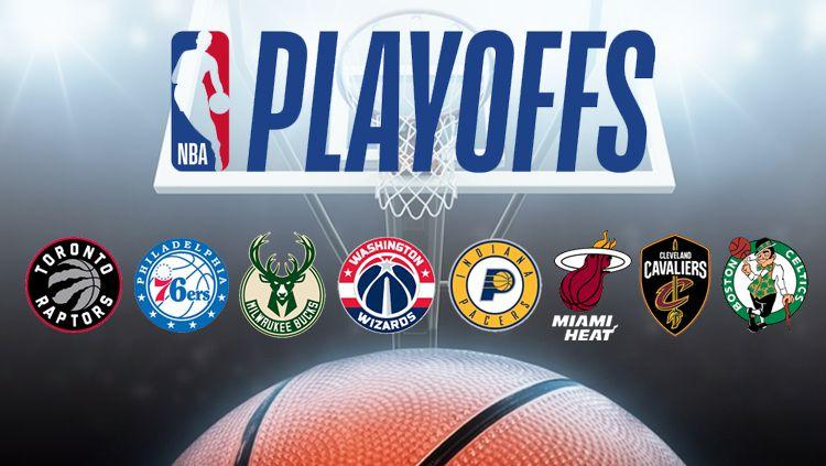 Playoff NBA. Copyright: © INDOSPORT