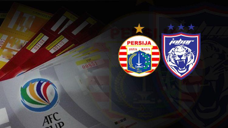Persija Jakarta vs Johor Darul Takzim. Copyright: © INDOSPORT