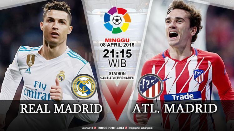 derby Madrid: Real vs Atletico