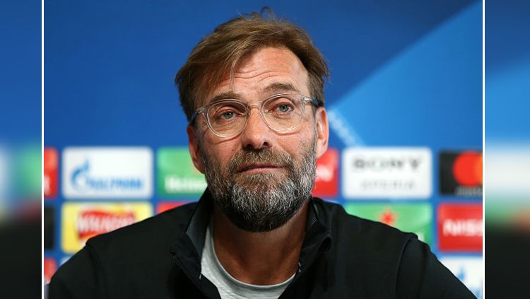 Jurgen Klopp, pelatih Liverpool. Copyright: © Getty Image