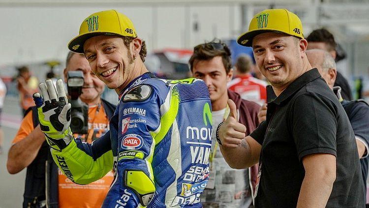 Uccio dan Valentino Rossi. Copyright: © Getty Image