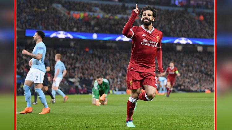 Mohamed Salah, pemain bintang Liverpool. Copyright: © Getty Images