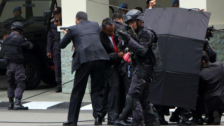 Pasukan Pengamanan Presiden (Paspampres) Copyright: © Vibizmedia/Rully