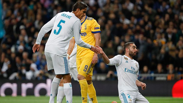 Laga perempat final Liga Champions Copyright: © Getty Images