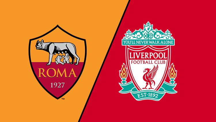 AS Roma vs Liverpool. Copyright: © INDOSPORT
