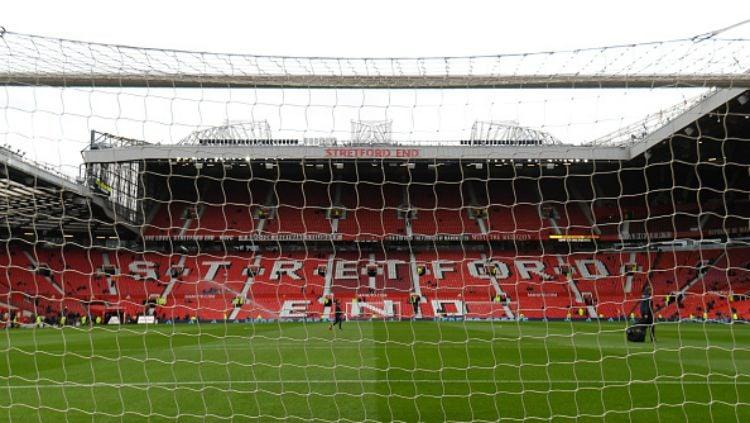 Old Trafford, markas Manchester United. Copyright: © INDOSPORT