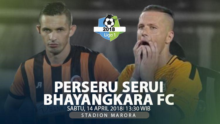 Prediksi Perseru Serui vs Bhayangkara FC. Copyright: © INDOSPORT