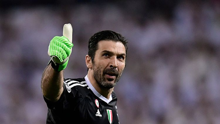 Gianluigi Buffon, kiper Juventus. Copyright: © Getty Images