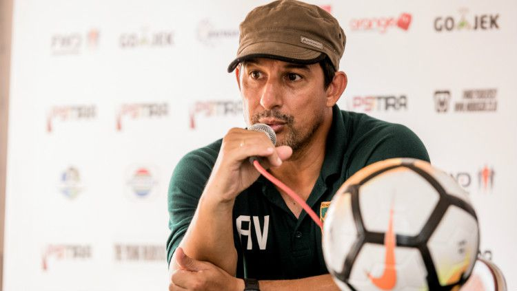 Pelatih Persebaya Surabaya, Alfredo Vera Copyright: © Media Persebaya
