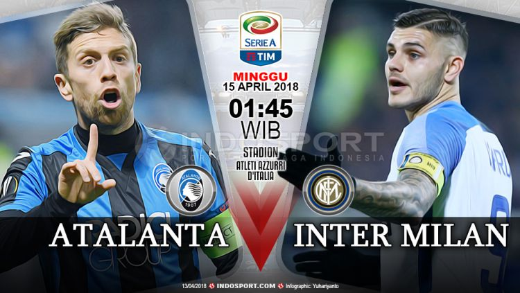 Prediksi Atalanta vs Inter Milan Copyright: © Grafis:Yanto/Indosport.com