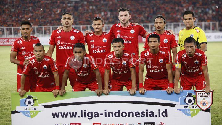 Skuat Persija Jakarta. Copyright: © INDOSPORT/Herry Ibrahim