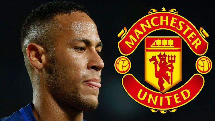 Neymar dikabarkan tertarik gabung Manchester United. Copyright: © Dailyrecord.co.uk