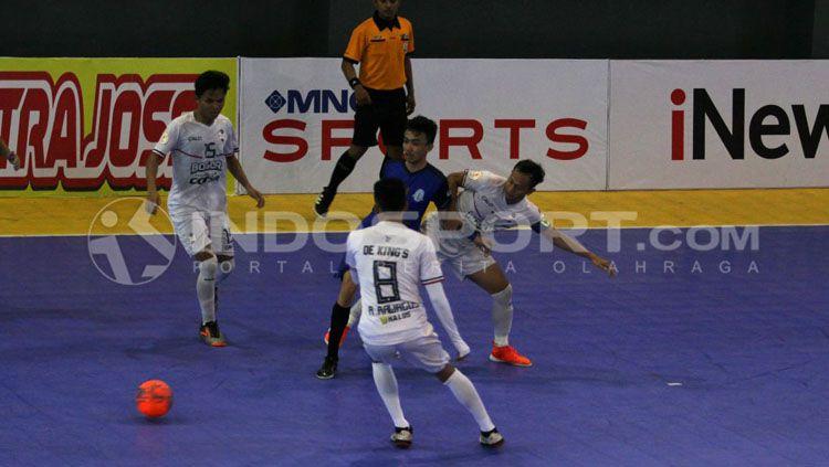 Dekings Bogor vs Dumai FC. Copyright: © Zainal Hasan/INDOSPORT