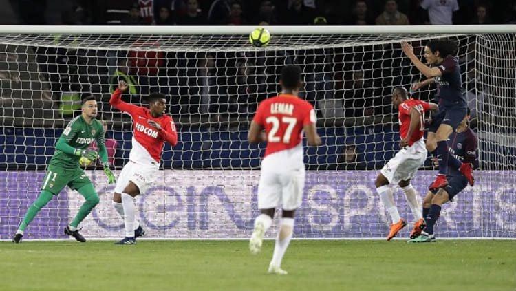 PSG vs AS Monaco. Copyright: © INDOSPORT