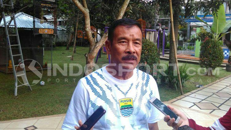 Umuh Muchtar, Manajer Persib Bandung. Copyright: © Arif Rahman/INDOSPORT