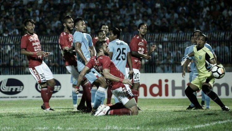 Penyerang Bali United Ilija Spasojevic. Copyright: © Twitter/@BaliUtd