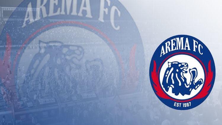Logo Arema FC. Copyright: © INDOSPORT