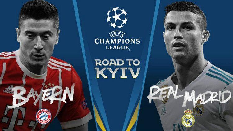 Bayern Munchen vs Real Madrid. Copyright: © UEFA