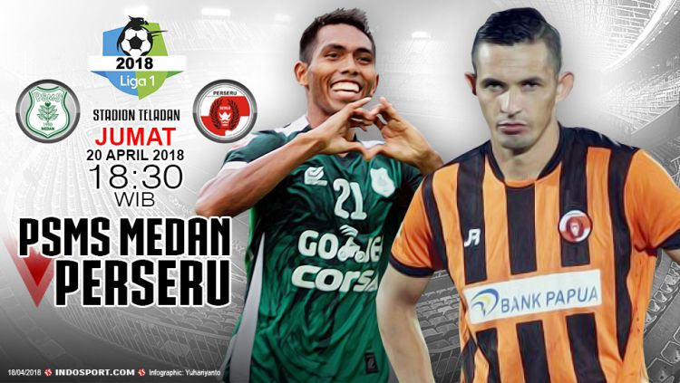 Prediksi PSMS Medan vs Perseru Serui Copyright: © Grafis:Yanto/Indosport.com