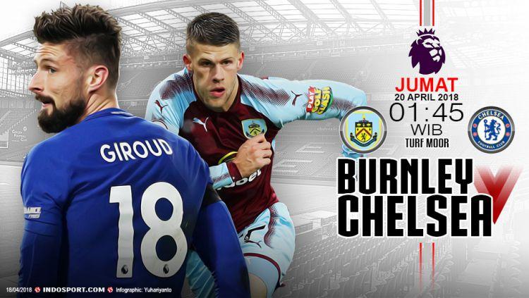 Prediksi Burnley vs Chelsea Copyright: © Grafis:Yanto/Indosport.com