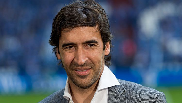 Legenda Real Madrid dan Timnas Spanyol, Raul Gonzalez, tercanam masuk bui gara-gara tersandung kasus hutang. Copyright: © Getty Images