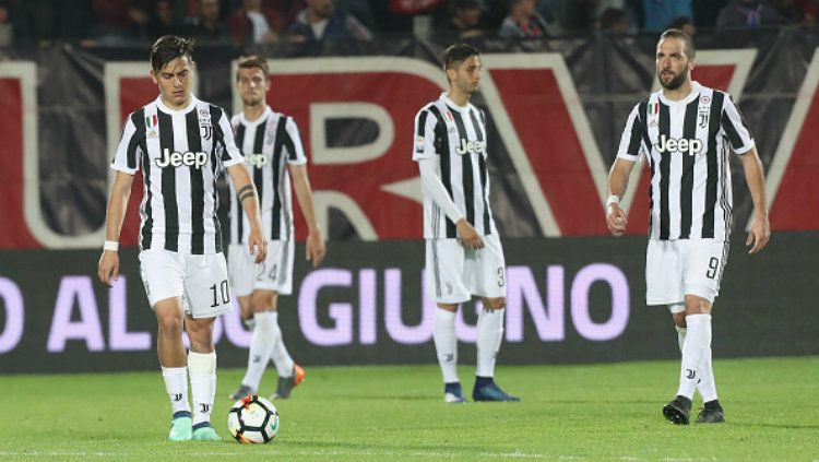 Crotone vs Juventus. Copyright: © Getty Images