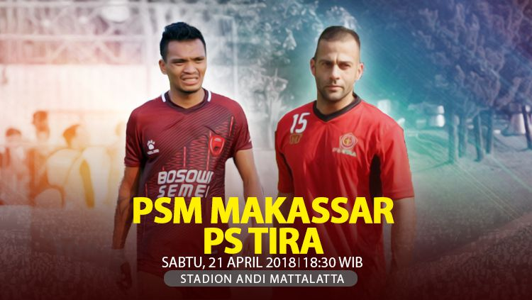 PSM Makassar vs PS TIRA. Copyright: © INDOSPORT