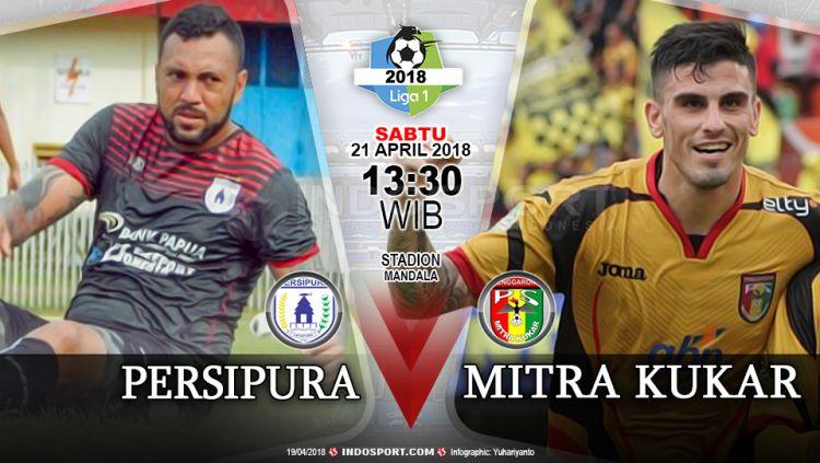 Prediksi Persipura vs Mitra Kukar Copyright: © Gafis:Yanto/Indosport.com