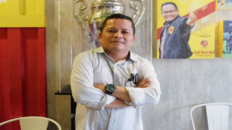 Sekretaris Umum PT Sriwijaya Optimis Mandiri (PT SOM), Faisal Mursyid Copyright: © Fornews.co