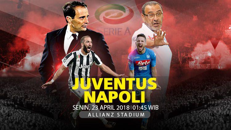 Prediksi Juventus vs Napoli. Copyright: © INDOSPORT