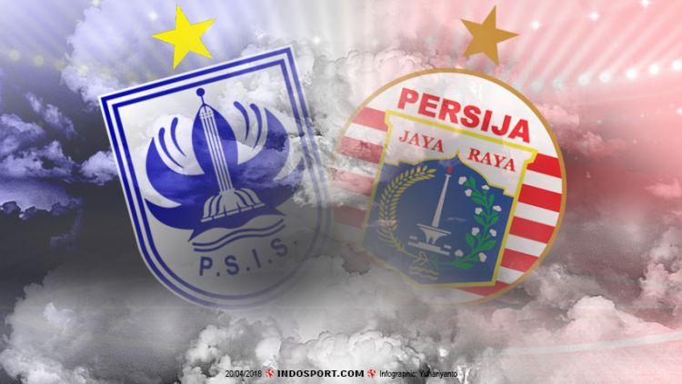 PSIS Semarang vs Persija Jakarta Copyright: © Grafis:Yanto/Indosport.com