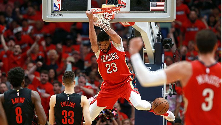 Portland Trail Blazers vs New Orleans Pelicans. Copyright: © Getty Images