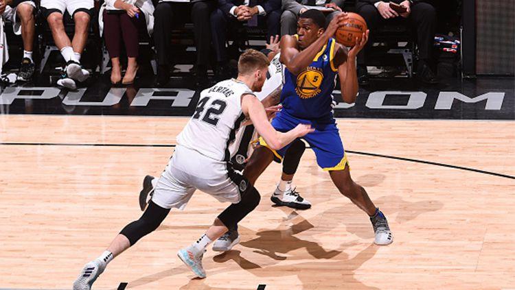 San Antonio Spurs vs Golden State Warriors. Copyright: © Getty Images